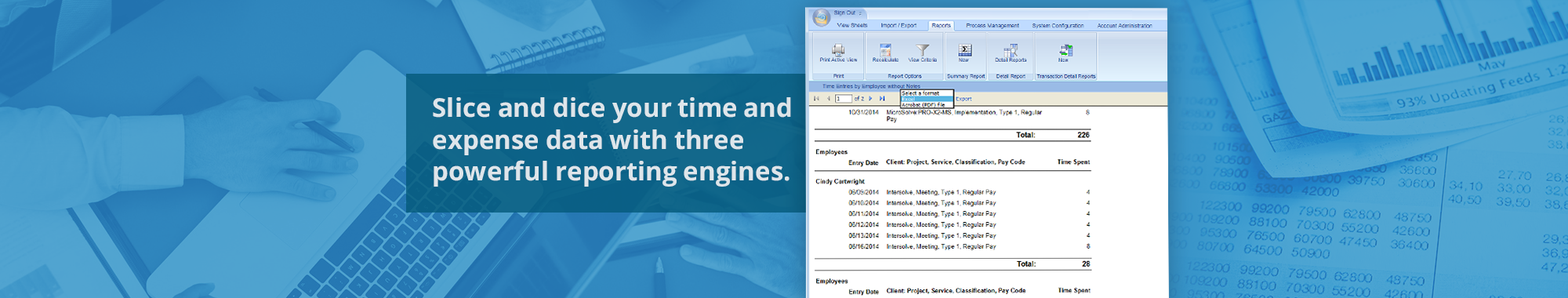 Web Timesheet Software - Office Timesheets